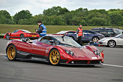 Pagani Zonda F (CA Photography2012) Tags: park ca car automotive event f supercar zonda dunsfold aerodrome v12 pagani the fangio clubsport hypercar photography2012 7gsm