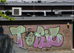graffiti (wojofoto) Tags: holland graffiti nederland netherland trackside torie wojofoto