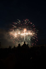 Canada Day Fireworks 2013 (coffeehistorian) Tags: canada fireworks guelph can canadaday riversidepark on