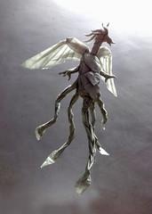 Origami Phoenix V.1.....  from wateromb base :P (Neelesh K) Tags: phoenix origami origamiphoenix