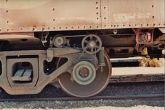 Santa Fe caboose graveyard (Santa Fe Way) Tags: santafe train railway caboose colton atsf