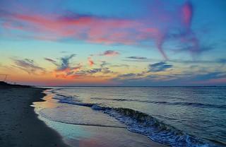 Virginia Beach sunset 7/26/2013. Photo by Mack...