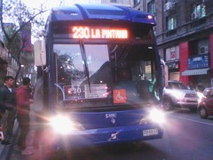 230|Conchali-La Pintana (maria angelica nuñez oyarce) Tags: bus buses la volvo urbano caio 230 colectivos transporte transantiago pasajeros 9392 conchalí pintana subus locomocióncolectiva troncal2 subuschile caiomondegola caioinduscar zu5673