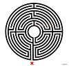 King's Cross Labyrinth (richardr) Tags: uk greatbritain england art english modern circle underground geotagged europe european unitedkingdom britain contemporary modernart british londonunderground kingscross labyrinth europeanunion wallinger markwallinger geo:lat=5153066 geo:lon=012316999999995915