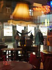 053-2 (Mario (⌐■_■)) Tags: leica reflection lamp night happy cafe 14 panasonic zagreb 25 lumic m43 mft gx7