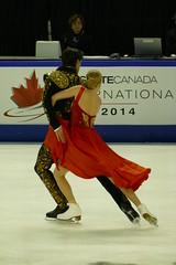 P1010719 - Kaitlyn Weaver & Andrew Poje (Donna Rutherford) Tags: figureskating icedance prosperaplace skatecanada kaitlynweaver andrewpoje