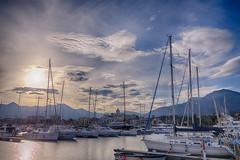 marina di loano, vista 2 (max:mazz) Tags: sea sky clouds marina boat italia nuvole mare harbour yacht liguria barche porto cielo hdr loano rx100m2