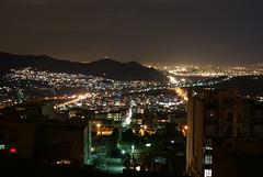 Tehran at Night (saintwalker85) Tags: city nightphotography mountains skyline night downtown iran capital nightlife tehran citys