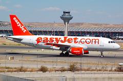 EASYJET A319 HB-JZL (Adrian.kissane) Tags: madrid easyjet a319 2353 hbjzl
