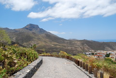 The road to Adeje (perengb) Tags: travel vacation spain tenerife teneriffa teneriffe adeje