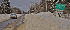 Above Maximum (evanlochem) Tags: new winter snow canada storm suburban buried deep brunswick pack record february snowfall heavy blizzard drifts banks maritimes quispamsis