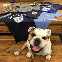 "Rolled out that new #Butler brand last week, complete w/ new @ButlerBookstore merch. More to come this summer/fall! • <a style=""font-size:0.8em;"" href=""http://www.flickr.com/photos/73758397@N07/16316148663/"" target=""_blank"">View on Flickr</a>"