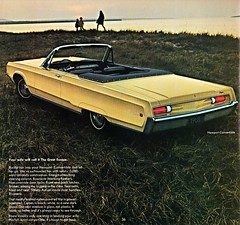 convertible newport 1968 chrysler brochure