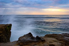Impact (Jim Nix / Nomadic Pursuits) Tags: travel sunset beach lajolla pacificocean socal nomadicpursuits