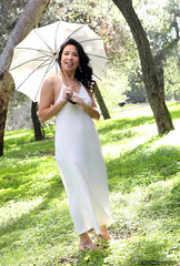 1.31.15 9 (Marcie Gonzalez) Tags: california park lighting county ca wedding light portrait orange woman usa white green nature grass female america forest umbrella garden happy photography us model women soft photographer natural united north models parks calif southern socal cal photograph parasol ethereal session states weddings gonzalez elegant delicate offwhite simple marcie elegance so