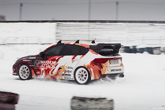 Winter track day (ASAP_Prod) Tags: winter snow ice car race honda volkswagen drive seat evolution subaru impreza sti s2k polo lancer mitsubishi awd fwd s2000 jdm vag drift zaz rwd chayka tavria