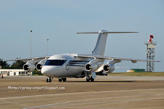 G-OFOM British Aerospace 146-100 (Jersey Airport Photography) Tags: jer jersey egjj bae146100 gofom