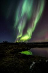 Aurora shot @ ingvallarvatn (gretargg) Tags: iceland nikon aurora ingvellir sland northernlights 1116 norurljs d700 ingvallarvatn