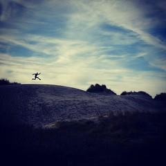 Jump For Joy #VisitHolland #Dune #Beach #Zeeland (stimorolthy) Tags: beach dune zeeland visitholland uploaded:by=flickstagram instagram:photo=865823862286291820577147