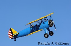 Boeing Stearman (Martin J. Gallego. Siempre enredando) Tags: boeing fio stearman kaydet lecu cuatrovientos fundacioninfantedeorleans ecfnm