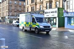 Mercedes benz Sprinter Glasgow 2015 (seifracing) Tags: cars ford volkswagen scotland europe britain glasgow police ambulance vehicles event bmw van emergency polizei peugeot spotting policia brigade ambulances polizia ecosse 2015 seifracing