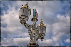 Lamp and sky (Andy J Newman) Tags: york sky cloud lamp nikon streetlamp