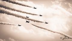 Malta airshow 2014_Royal Air Force_Red Arrows_British Aerospace Hawk T1A__7 (grahampace) Tags: malta redarrows sigmalens rafredarrows airshow2014