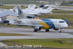 DSC_7939Pwm (T.O. Images) Tags: st airport princess juliana maarten sxm embraer demonstrator e175 ppxjd