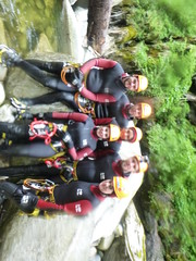 P1120434 (Mountain Sports Alpinschule) Tags: blue mountain sports lagoon canyoning zillertal zemmschlucht alpinschule