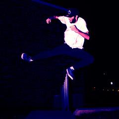 Karate Kick (Deranged Direction) Tags: outdoors jump kick karate speedlight 1125 actionphoto karatekick highshutterspeed fastshot