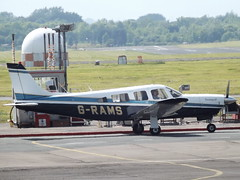 G-RAMS Piper Saratoga 32 (Aircaft @ Gloucestershire Airport By James) Tags: james airport saratoga gloucestershire piper 32 lloyds grams egbj