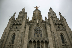 Top of the temple (Jean I Cresol) Tags: barcelona church outside march spring spain europe view outdoor top religion 16th 2016 sagratcor templeexpiatoridelsagratcor