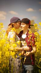 Together we're strong (carla_hauptmann) Tags: summer love outside happy 50mm spring couple sommer sony lucky raps liebe frhling a77 prchen glcklich f17 escherndorf drausen carlahauptmann felixfrhlich