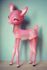 Mlow - Fanny Grenadine / Nympheas Dolls (Nickocha) Tags: pink cute forest ball doll dolls ooak fanny raquel deer fawn kawaii bjd lollipop limited edition clemente jointed grenadine