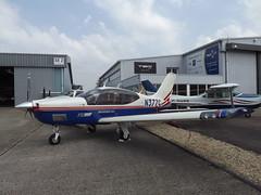 N377C Socata Trinidad TB21 (Aircaft @ Gloucestershire Airport By James) Tags: james airport gloucestershire trinidad lloyds tb21 socata egbj n377c