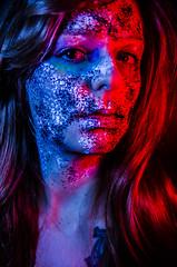 Tallows 7 (Jef Harris) Tags: portrait colorful patterns ottawa makeup muse mua homestudio creativemakeup ottawamodel
