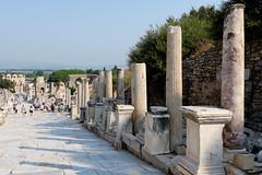 Curetes Street (_Codename_) Tags: turkey library columns ephesus libraryofcelsus curetesstreet