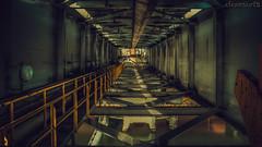 Industrial Shoot 1 - DSC1252 ilce A7II (cleansurf2 Urbex) Tags: wallpaper urban industry industrial screensaver steel widescreen tunnel urbex 16x9 leadinglines