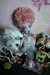 Harha's bug party (Illves) Tags: cute bug mantis pastel bjd faceup hamanor