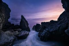 Through The Keyhole At Ruby Beach Explored! (jasonfdarr) Tags: ocean sunset beach water vancouver sand waves rubybeach seastacks jasondarr