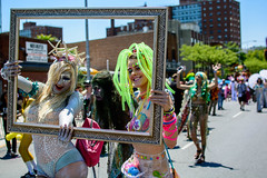 Mermaids (drpavloff) Tags: mermaid topless mermaidparade brooklyn coneyisland nudeinpublic sexinpublic naked toplessparade girls sexygirls nyc nude naturist party gonewild sexyblonde tattoogirls toplessgirl boobs umbrella sex sexy longhair wig blond hot hotpair bra braless brunette redhead bikini panties mermaids sun summer parade nudeparade tits sunglasses bodypainting hats jellyfish tattoo girltattoo frame