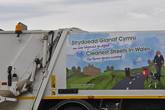 Is this a record? (Chris Mullineux) Tags: wales bin clean refuse conwy refusetruck dustbinlorry binliorry