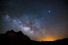 Milky Way Rising over the Arizona Desert (fenicephoto) Tags: arizona milkyway