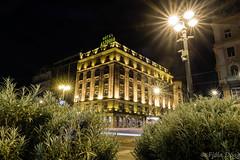 Danubius Hotel Astoria (Fjola Dogg) Tags: night hotel europe hungary nightshot budapest astoria buda hotelastoria evropa budapete evrpa ungverjaland nturtaka danubiushotelastoria