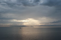 The dying of the light. (NovemberAlex) Tags: colour light whitstable kent water seaside