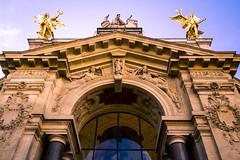 Untitled (Fabien Berdah) Tags: light paris france architecture gold perspective arches symmetry sculptures