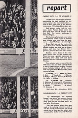 Cardiff City vs Burnley - 1971 - Page 11 (The Sky Strikers) Tags: park city two football official journal cardiff division league bluebirds programme burnley 5p ninian