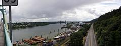 from St Johns Bridge (Franklyn W) Tags: oregon portland pacificnorthwest pdx pnw willametteriver northportland stjohnsbridge twitter tumblr