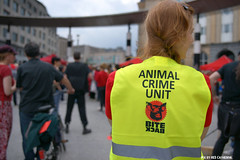Animal crime unit (Red Cathedral uses albums) Tags: brussels vegan sony streetphotography animalrights bruxelles vegetarian vegetarians alpha gaia brussel veganism carnivore animaltesting herbivore meatismurder | redcathedral omnivore a850 eventcoverage sonyalpha meatconsumption biteback aztektv veganisme marchepourlafermeturedesabattoirs marsvoordesluitingvanslachthuizen