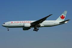 C-FIUF (Air Canada) (Steelhead 2010) Tags: boeing yyz aircanada b777 creg cfiuf b777200lr